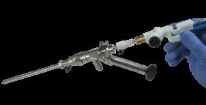 NICO Myriad NOVUS used with a ventriculoscope