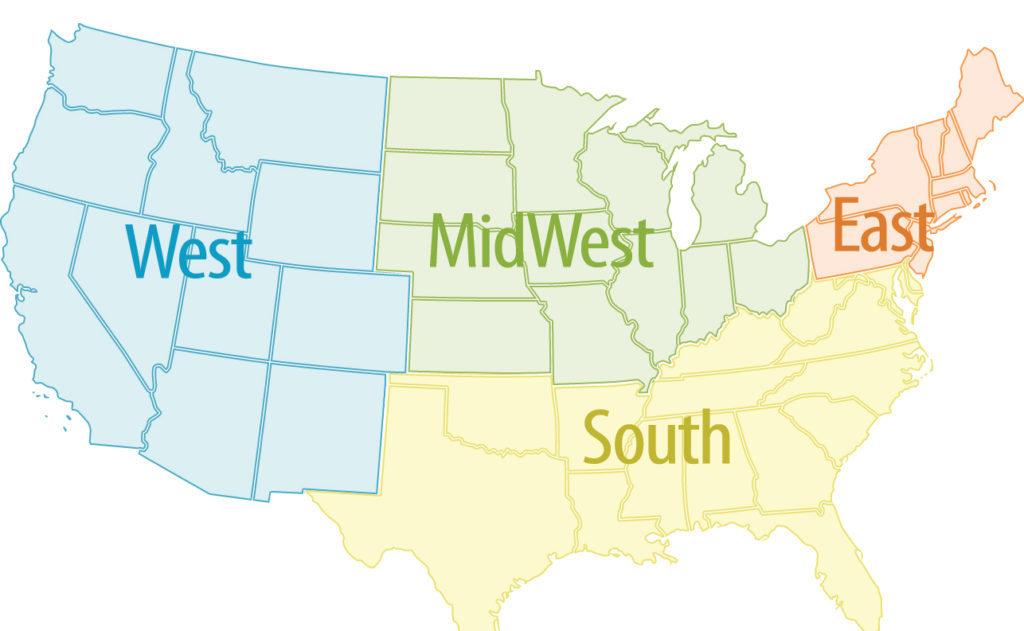 BrainPath Center by Region